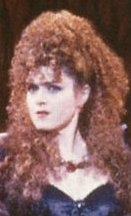 Bernadette from 'Into The Woods'. She received a Drama Desk Nomination for this performance.