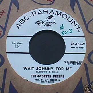 45 RPM Record-Wait Johnny For Me, Width: 325, Height: 323, Size: 22KB